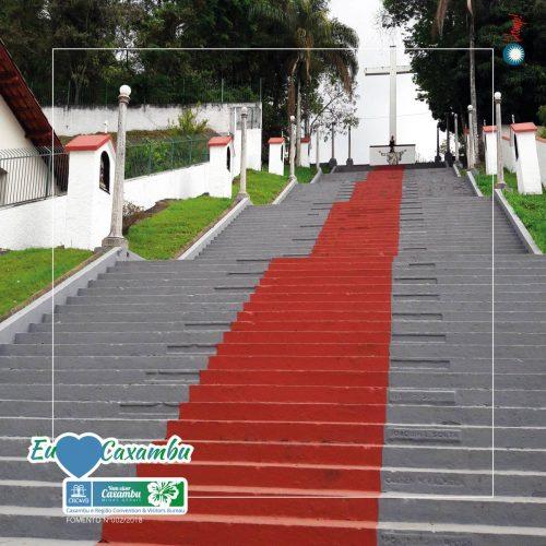 Escadaria Igreja Santa Isabel da Hungria